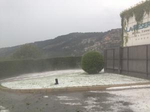 Caramanico post-hail storm