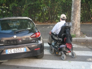 Negotiating accessibility-challenged streets of Rome
