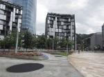 Green space, new buildings, Bilbao