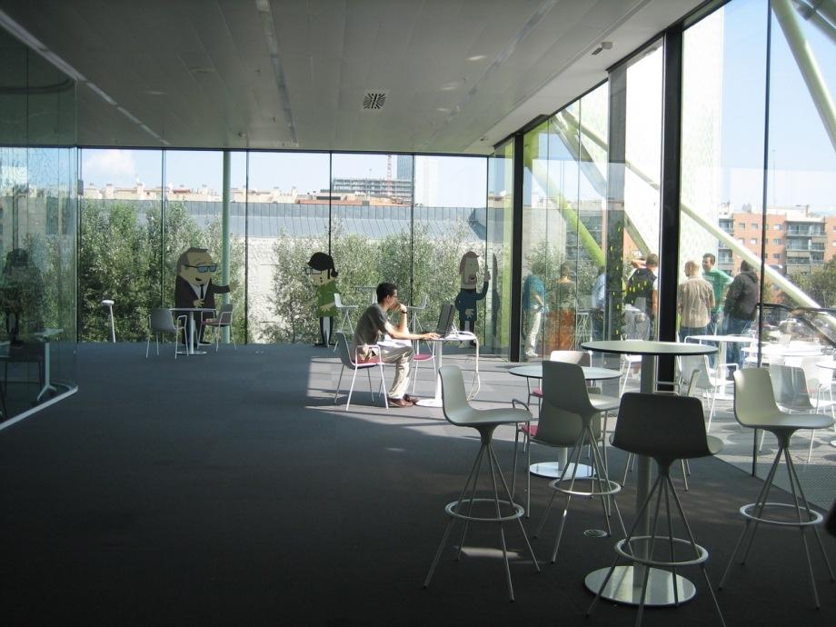 MediaTic building for digital innovation