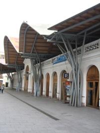 Barcelona's Santa Caterina Market building